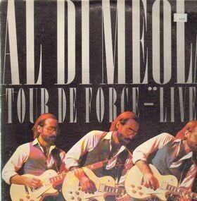 Al DiMeola - Tour De Force - 'Live'