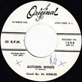 Al Hibbler - Autumn Winds / You Will Be Mine