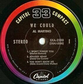Al Martino - We Could