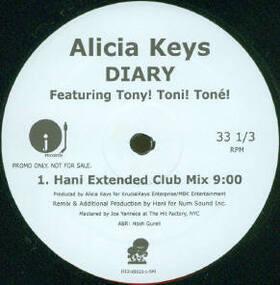 Alicia Keys - Diary (Hani Mixes)