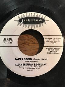 Allan Sherman - Jakes Song