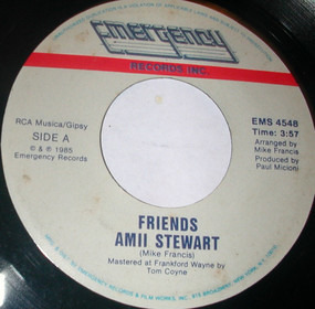 Amii Stewart - Friends / Picture