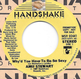 Amii Stewart - Why'd You Have To Be So Sexy