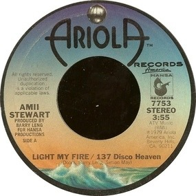 Amii Stewart - Light My Fire / 137 Disco Heaven