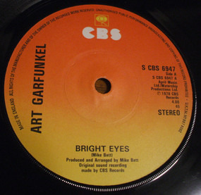 Art Garfunkel - Bright Eyes