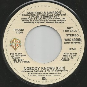 Ashford & Simpson - Nobody Knows