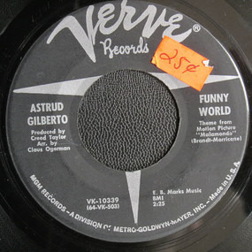 Astrud Gilberto - Funny World / Who Can I Turn To