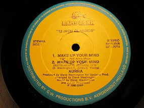 Aurra - Make Up Your Mind / Such A Feeling