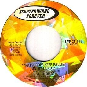 Billy Joe Thomas - Raindrops Keep Fallin' On My Head / (They Long To Be) Close To You