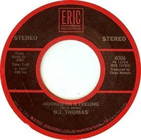 Billy Joe Thomas - Hooked On A Feeling / Raindrops Keep Fallin' On My Head