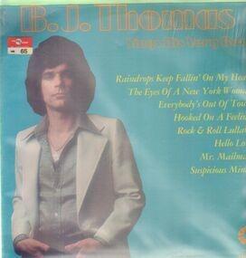Billy Joe Thomas - Sings His Very Best
