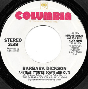 Barbara Dickson - Anytime (You're Down And Out)
