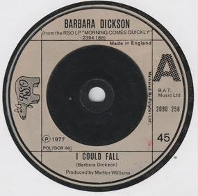 Barbara Dickson - I Could Fall