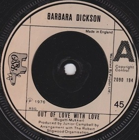 Barbara Dickson - Out Of Love With Love