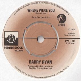 Barry Ryan - Where Were You