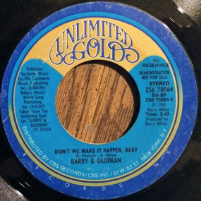 Barry White - Didn't We Make It Happen Baby