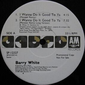 Barry White - I Wanna Do It Good To ya