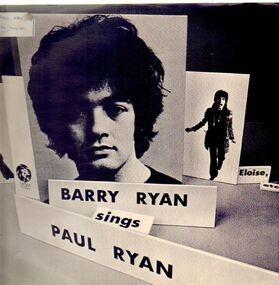 Barry Ryan - Sings Paul Ryan