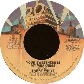 Barry White - Your Sweetness Is My Weakness / It's Only Love Doing Its Thing