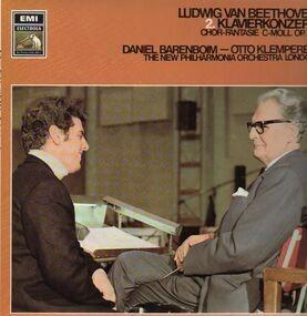 Ludwig Van Beethoven - 2.Klavierkonzert, Chor Fantasie C-Moll,, Barenboim, Klemperer, New Philh Orch London