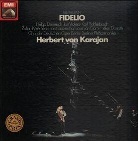 Ludwig Van Beethoven - Fidelio,, Karajan, Berliner Philh, Chor der dt Oper Berlin