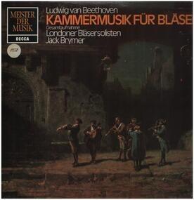 Ludwig Van Beethoven - Kammermusik für Bläser,, Londoner Bläsersolisten, Jack Brymer