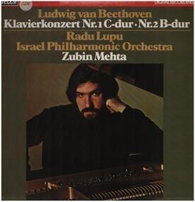 Ludwig Van Beethoven - Klavierkonzert Nr.1 C-dur, Nr.2 B-dur,, Radu Lupu, Israel Philh Orch, Zubin Mehta
