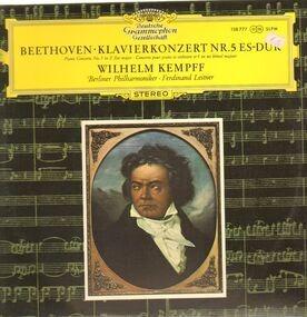 Ludwig Van Beethoven - Klavierkonzert Nr.5 Es-Dur,, Willhelm Kempff, Berliner Philh, Leitner