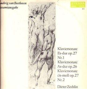 Ludwig Van Beethoven - Klaviersonate Es-dur #1, As-dur, cis-moll #2