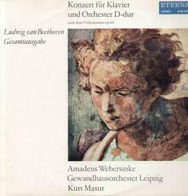 Ludwig Van Beethoven - Konzert für Klavier und Orch D-dur,, Amadeus Webersinke, Gewandhausorch Leipzig, Masur