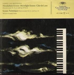 Ludwig Van Beethoven - Mondschein-Sonate, Sonate Pathetique,, W.Kempff, Piano