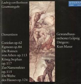 Ludwig Van Beethoven - Ouvertüren-Coriolan op.62...,, Gewandhausorch Leipzig, Masur