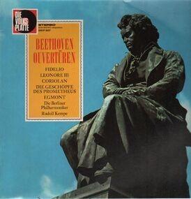 Ludwig Van Beethoven - Ouvertüren,, Berliner Philh, Kempe Fidelio, Leonore III, Coriolan, Geschöpfe Prometheus, Egmont