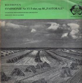 Ludwig Van Beethoven - Pastoral Symphony; London Philharmonic Orch, Erich Kleiber