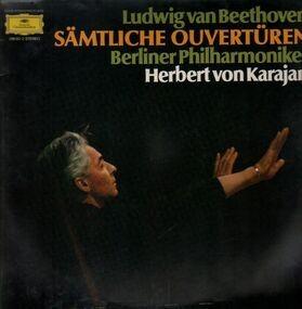 Ludwig Van Beethoven - Sämtliche Ouvertüren, Berliner Phil, Karajan
