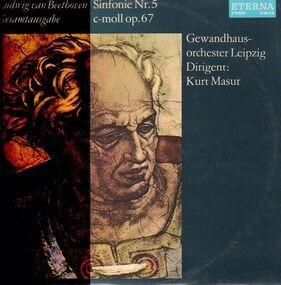 Ludwig Van Beethoven - Sinfonie Nr.5 c-moll,, Gewandhausorch, Masur