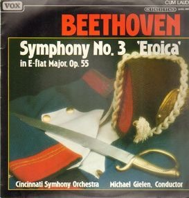 Ludwig Van Beethoven - Symphonie Nr.3 E-flat,, Cincinnati SymphOrch, Gielen
