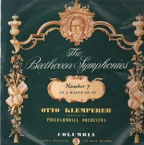 Ludwig Van Beethoven - The Beethoven Symphonies - Number 7 in A Major (Klemperer)
