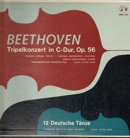 Ludwig Van Beethoven - Tripelkonzert in C-Dur, Op.56, 12 Deutsche Tänze