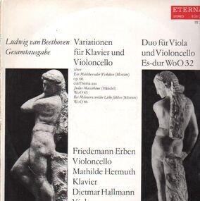 Ludwig Van Beethoven - Variationen für Klavier und Violoncello / .. (Erben, Hermuth,..)