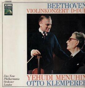 Ludwig Van Beethoven - Violinkonzert D-Dur (Menuhin, Klemperer)