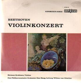 Ludwig Van Beethoven - Violinkonzert D-Dur op.61,, H. Krebbers, Philh Orch Den Haag, van Otterloo