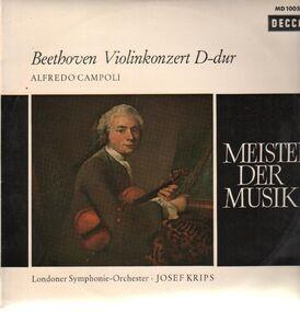 Ludwig Van Beethoven - Violinkonzert D-dur,, Alfredo Campoli, LSO, Krips