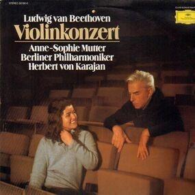 Ludwig Van Beethoven - Violinkonzert,, Anne-Sopie Mutter, Berliner Philh, Karajan