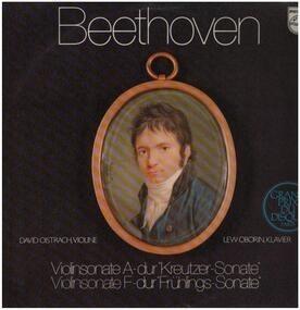Ludwig Van Beethoven - Violinsonaten A-dur & F-dur,, D. Oistrach-Violine Lew Oborin-Klavier