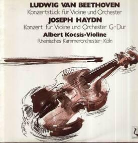 Ludwig Van Beethoven - Konzertstück für Violine und Orch, Konzert für Violine und Orch G-Dur