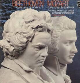 Ludwig Van Beethoven - Klavierkonzerte, Nr.1C-dur op.15 / Es-dur KV449,, Eugen Jochum