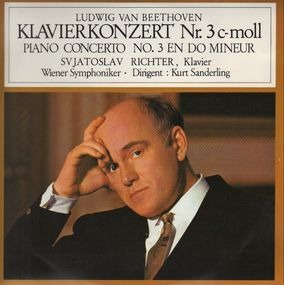 Ludwig Van Beethoven - Klavierkonzert Nr.3 c-moll,, S. Richter, Wiener Symph, K. Sanderling