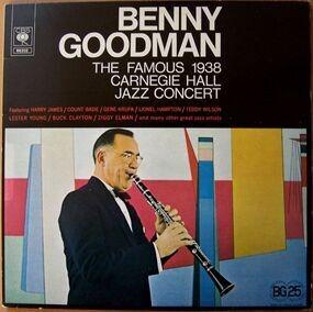 Benny Goodman - The famous 1938 Carnegie Hall Jazz Concert
