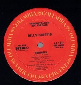 Billy Griffin - Serious